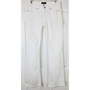 Banana Republic white bootcut jeans size 27/4